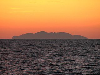 Gorgona (Italy) island in the Tuscan Archipelago