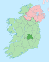 Island of Ireland location map Laois.svg