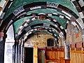 Issogne Castello d'Issogne Innenhof Fresken 09.jpg