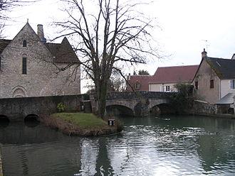 Théols - river near Issoudun