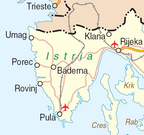 Istria Croatian Adriatic