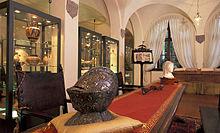 Casa Museo Ivan Bruschi, particolare degli interni