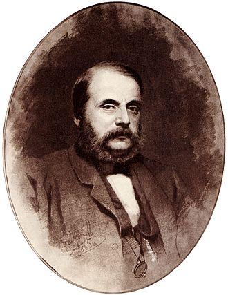Ivan Goncharov - Portrait of Goncharov by Ivan Kramskoi, 1865