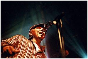 Ivan Neville - Neville performing at the 2005 Bourbon Street Fest