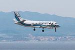 """JCG, Saab 340B, MA954 """"Hayabusa (Falcon)"""" (17831531133).jpg"""