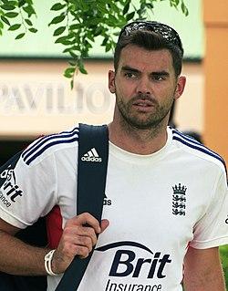 James Anderson (cricketer) English cricketer, born 1982