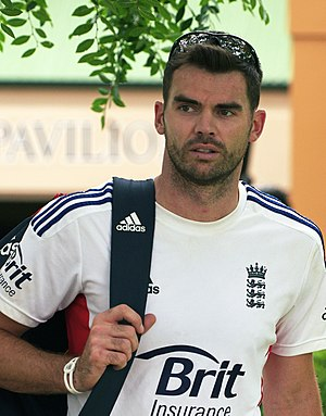 James Anderson (cricketer) - Anderson in 2014