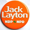 Jack Layton NDP NPD button.jpg