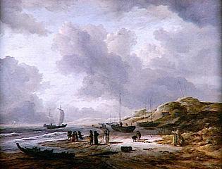 La plage et les dunes de Scheveningen
