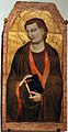 Jacopo del casentino, ss. caterina, jacopo e giovanni evangelista, 1350 ca., da s. prospero a cambiano 04.JPG