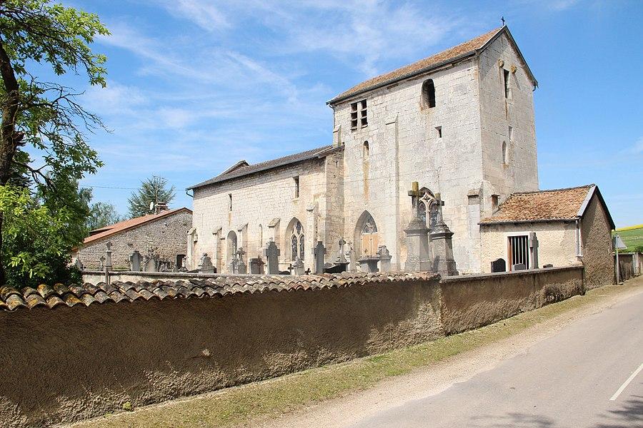 Jakobsweg by Niederkasseler   France - Kirche Champougny