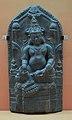 Jambhala Inscribed - Basalt - ca 10th Century CE - Pala Period - Bihar - ACCN 4571-A23013 - Indian Museum - Kolkata 2016-03-06 1578.JPG