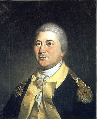 Brown University - Brigadier general James Mitchell Varnum (class of 1769) served in the Continental Army and advocated the enlistment of African Americans, which resulted in the reformation of the 1st Rhode Island Regiment as an all-black unit. Painting by Charles Willson Peale, 1804