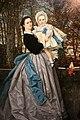 James Tissot, ritratto dei marchesi di miramont coi figli, 1865, 02.JPG