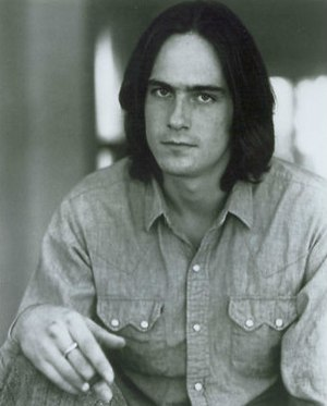 Steamroller Blues - James Taylor in a 1970s publicity photo