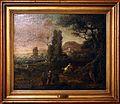 Jan de momper detto monsù x, paesaggio con viandanti e cavaliere, 1665-70 ca.jpg