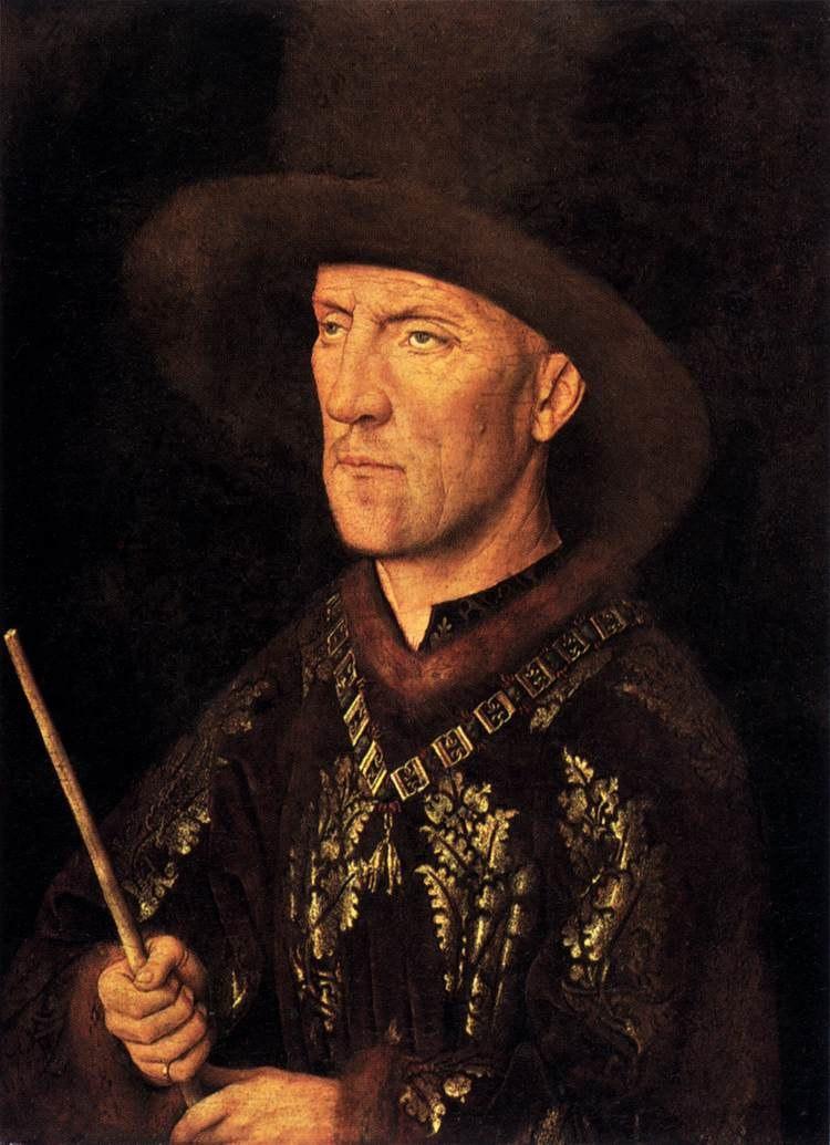 Jan van Eyck - Portrait of Baudouin de Lannoy - WGA7607