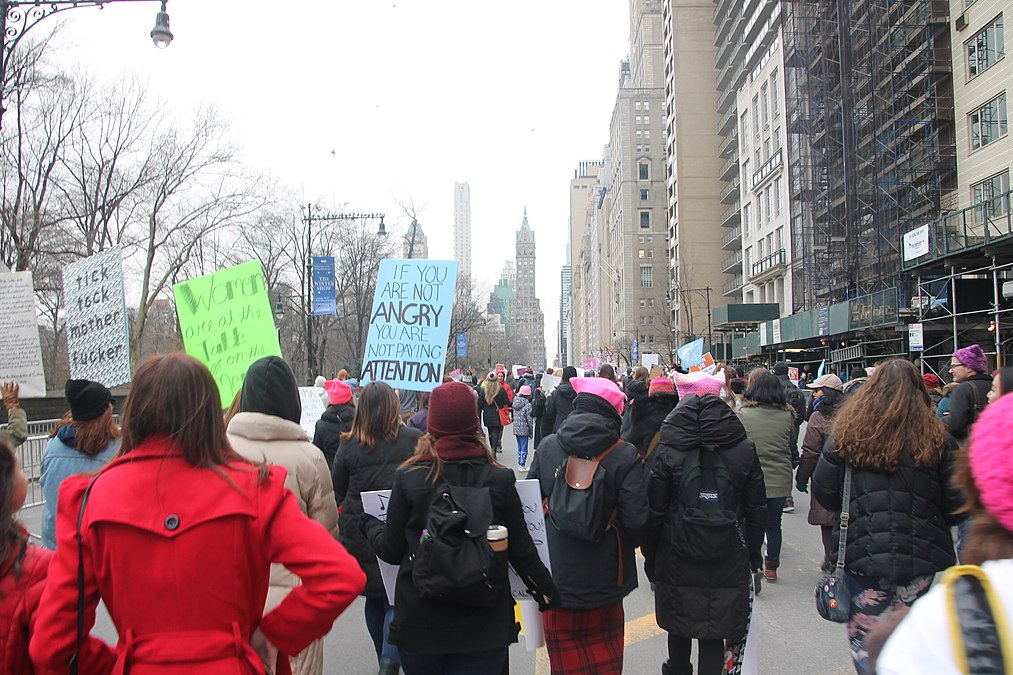 January 2019 Women's Alliance march in NYC (46806325281).jpg