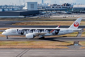 日本航空のエアバスA350-900