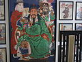 Japanische Bilder im Empfangsraum des Klimtateliers - Ausschnitt.JPG