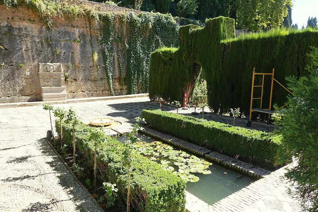 File jardines bajos generalife alhambra granada for Jardines alhambra