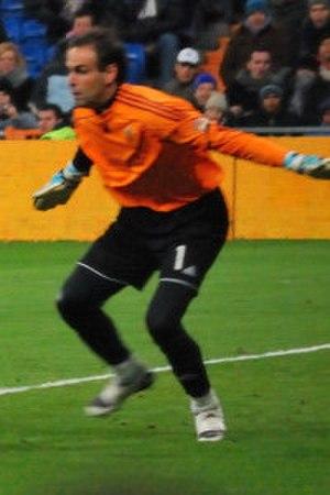 Javier López Vallejo - Vallejo in action for Zaragoza (2009)