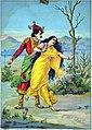 Jaydrath abduct Draupadi.jpg