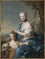 Jean-Marc Nattier - Madame Crozat de Thiers and Her Daughter - 72.132 - Indianapolis Museum of Art.jpg