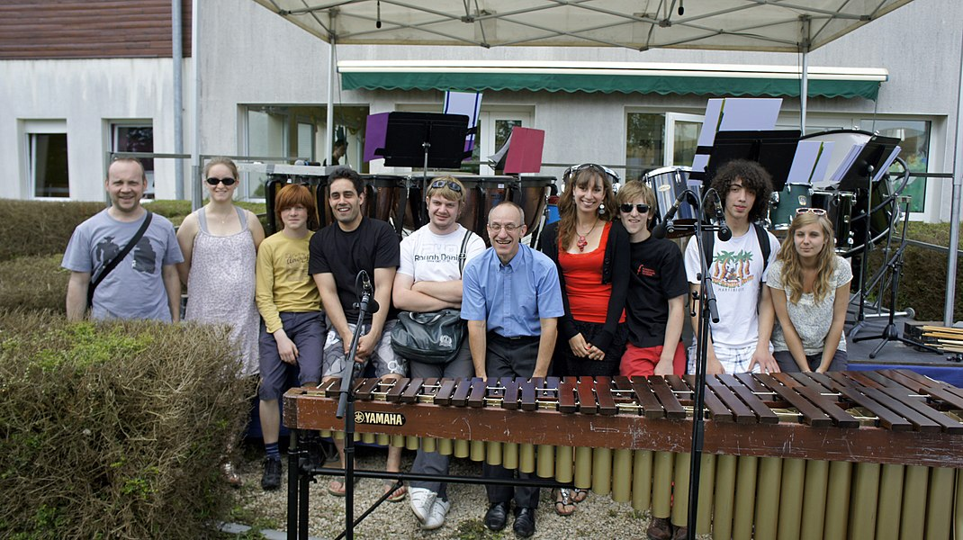 Jean Fessard lors des Flâneries musicales reims 2012 à l'Eoline.