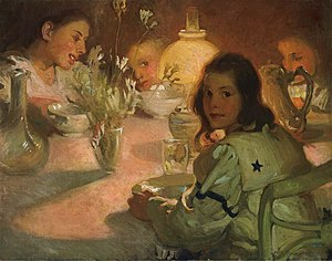 M. Jean McLane - Jean McLane, Tea Time, 1905