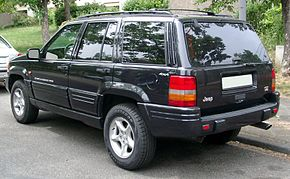Jeep Grand Cherokee rear 20080703.jpg