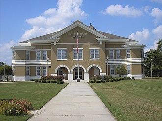 Jeff Davis County Courthouse (Hazlehurst, Georgia) - Image: Jeff Davis County Courthouse 2