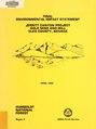 Jerritt Canyon Project - gold mine and mill, Elko County, Nevada - final environmental impact statement (IA jerrittcanyonpro00unit).pdf