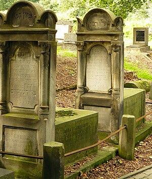 Jewish Cemetery, Warsaw - Jewish graves in Warsaw