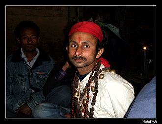 Jhākri - A jhākri in Kalimpong, West Bengal, India