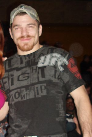 English: Jim Miller (MMA Fighter) at UFC Fight...