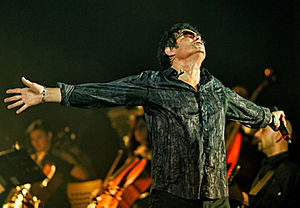 Jimi Jamison - Jamison at the When Rock Meet Classic.