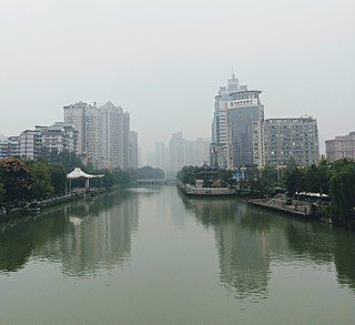 Jin River (Sichuan) River in Sichuan, China