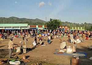 Jinka - Market in Jinka