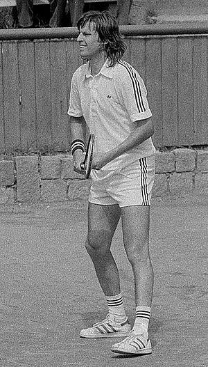Jiří Hřebec - Jiří Hřebec, Final, Czech Tennis Championships 1981
