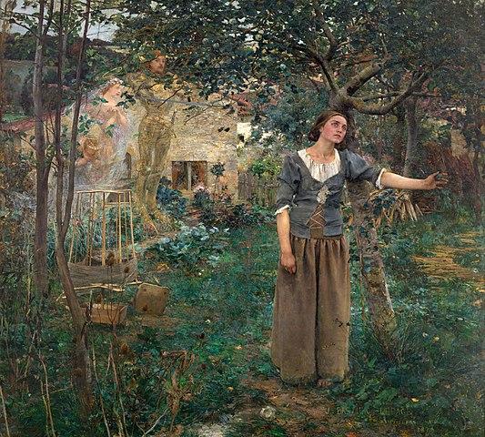 Жюль Бастьен-Лепаж «Видение Жанны д'Арк» (1879)