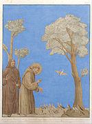 Johann Anton Ramboux - Saint Francis Preaching to the Birds - Google Art Project.jpg