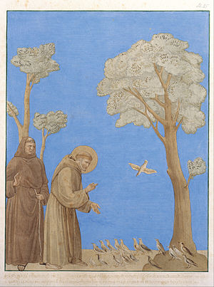 Johann Anton Ramboux - Johann Anton Ramboux - Saint Francis Preaching to the Birds