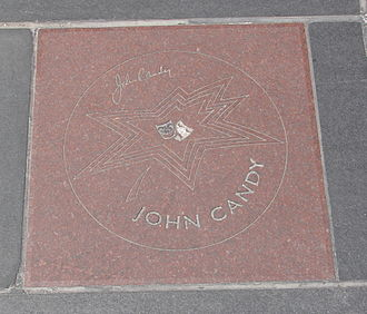 John Candy - Candy's star on Canada's Walk of Fame