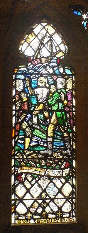 John Honey - The John Honey window located in St Salvator's Chapel, the University of St Andrews.