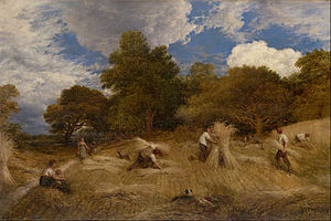 John Linnell (painter) - Wheat, circa 1860