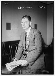 J. Louis Engdahl American newspaper editor