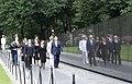 John McCain wreath laying at the Vietnam Veterans Memorial (30535945888).jpg