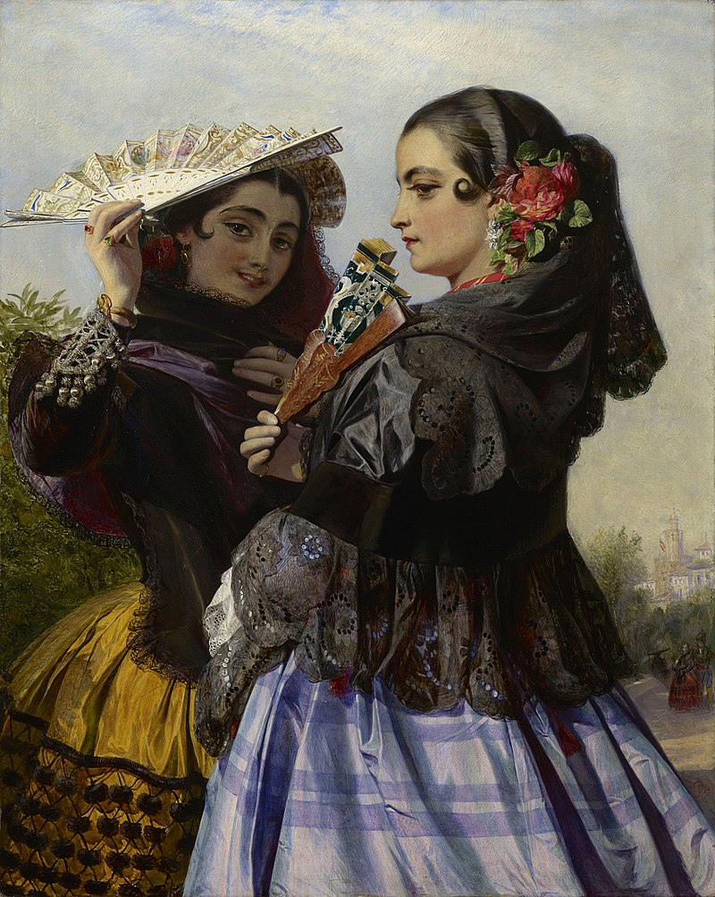 "Джон Филлип (1817-67) - ""Эль-Пасео"" - RCIN 404597 - Royal Collection.jpg"