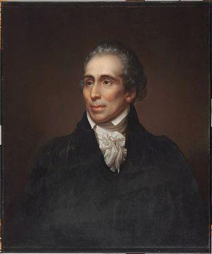 John Warren (surgeon) - Portrait of John Warren by Rembrandt Peale